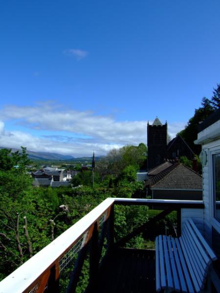 Vista desde el balcón del norte