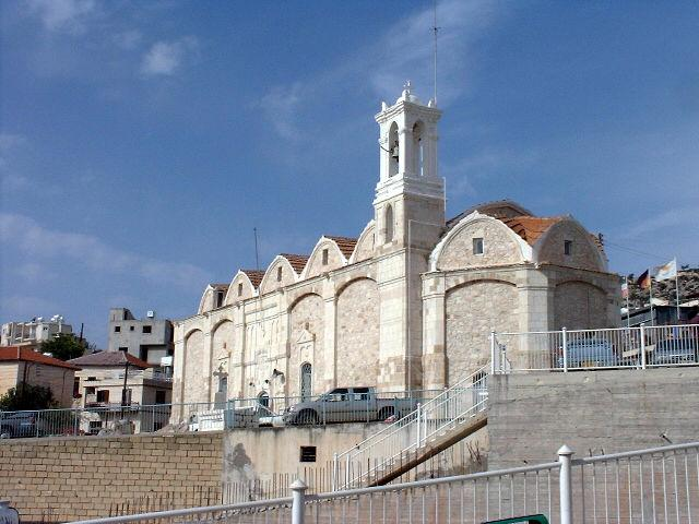 Local church in Peyia