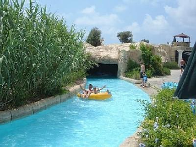 Aphrodite's waterpark - variety of slides and fun activities - caters for all ages