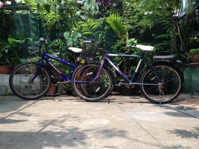 Two Bikes For Free Use During Staying With Us: Riders Height: 155-170 Cms.