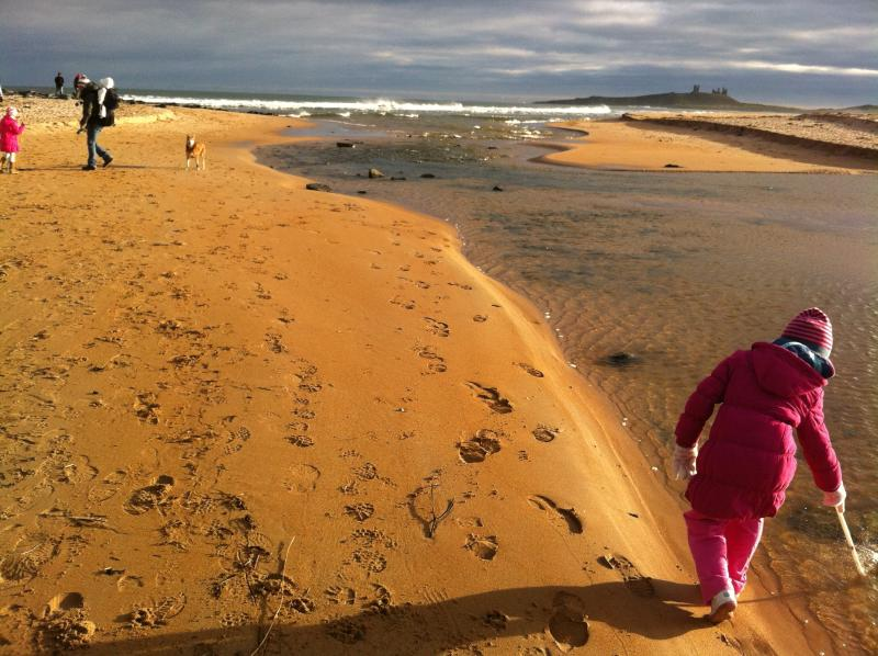 Short walk to Ship Inn at Low Newton-by-the Sea.  Great for kids & dogs!
