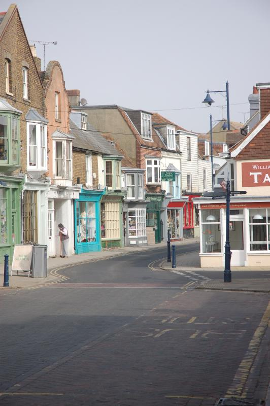 Harbour Street - the heart of Whitstable.