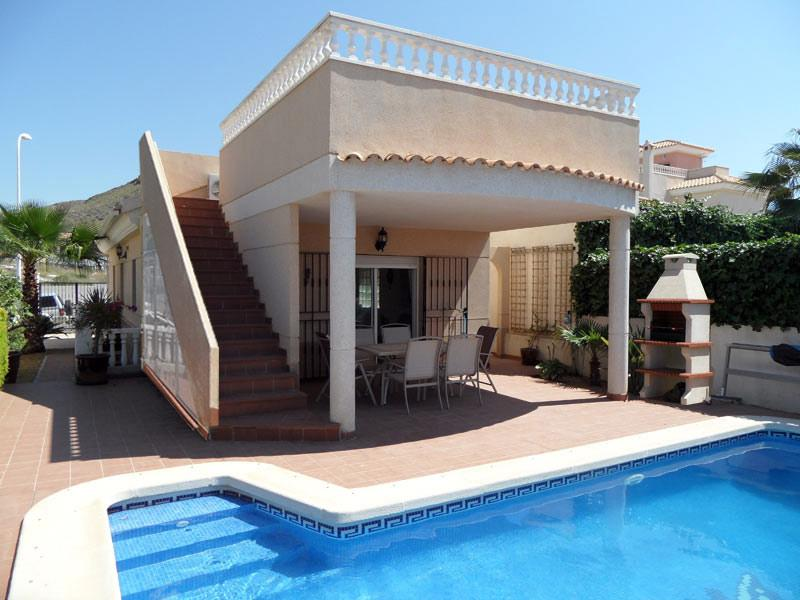 Casa Norma, 3 bedroom detached villa, with WIFI, Airco and private pool, holiday rental in San Juan de los Terreros