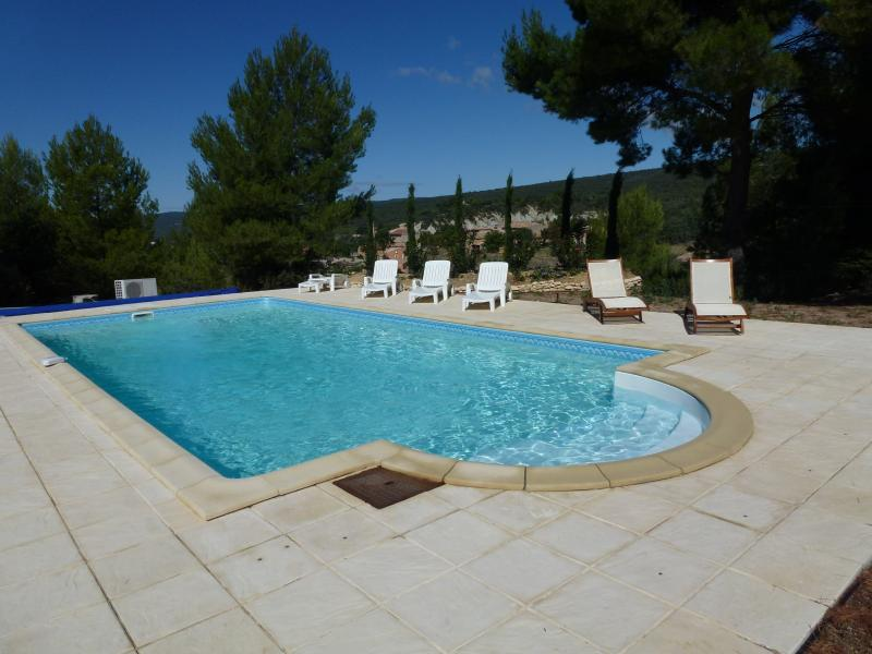 La piscine à l'eau salée, 10x5x1.80 fond en prisme, Balnéo, contre-courant !