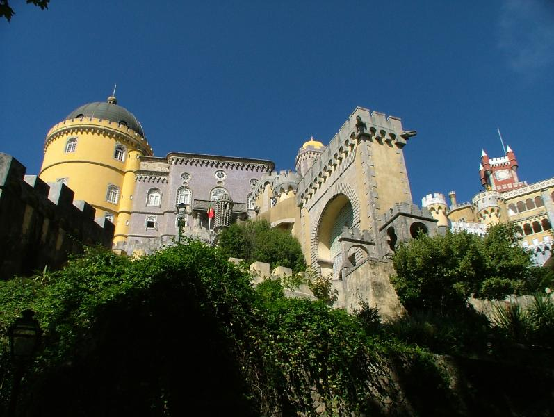 Sintra World Heritage site: Pena Palace in Sintra, just a short drive away