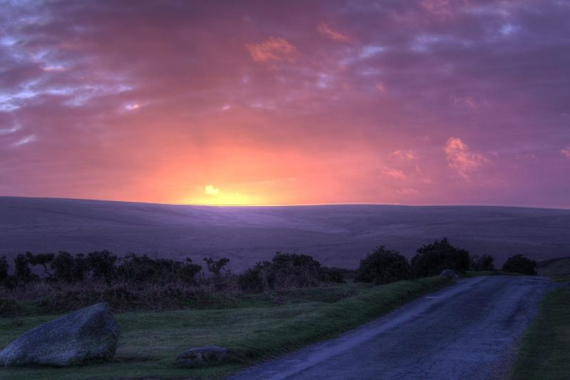 Enjoy all the Sunsets and sunrises over Dartmoor