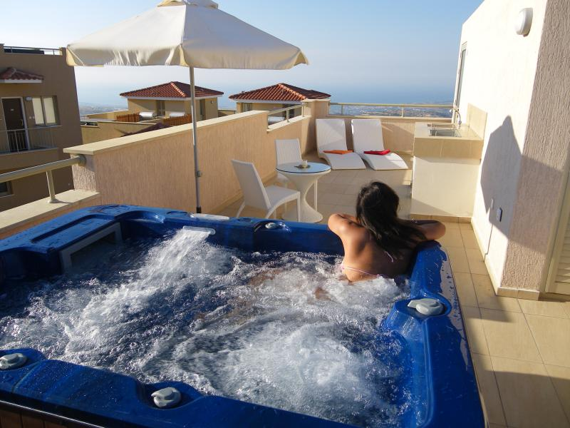 225 penthouse rooftop jacuzzi