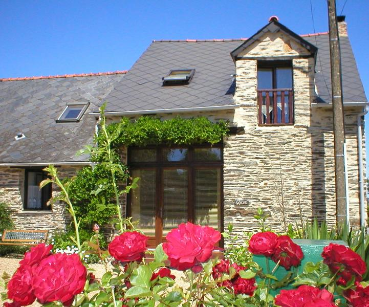 Wisteria Barn, South Brittany Cottages Free bikes, Wifi, holiday rental in Masserac