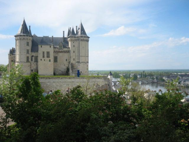 The Chateau at Saumur.