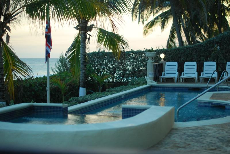 ENJOY THE OPEN AIR JACUZZI  WITH COOL OCEAN BREEZES