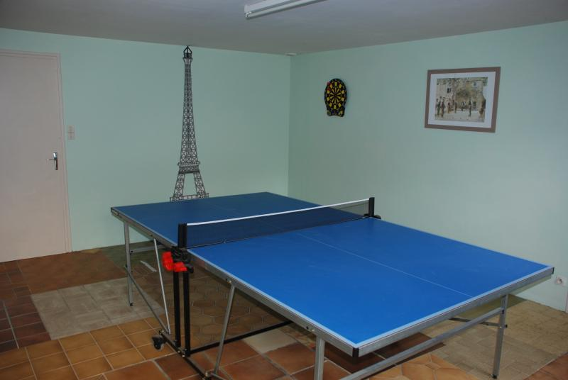The Games Room at Maison Driscoll