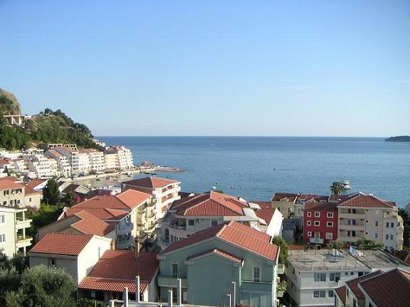 View of Rafailovici village from balcony