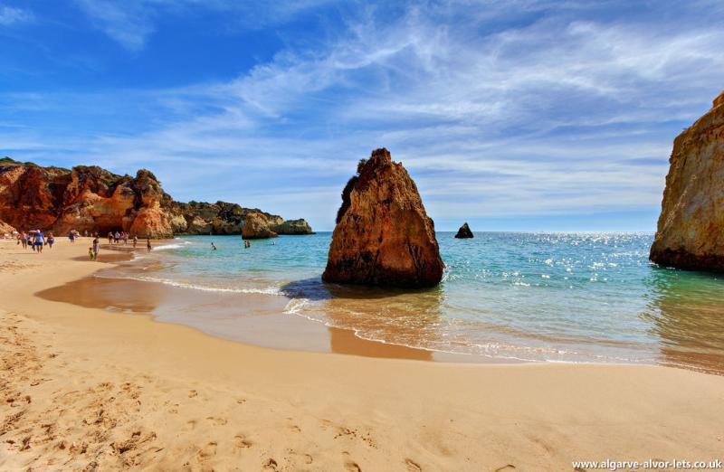 Alvor's beautiful beach - Praia dos Três Irmãos.
