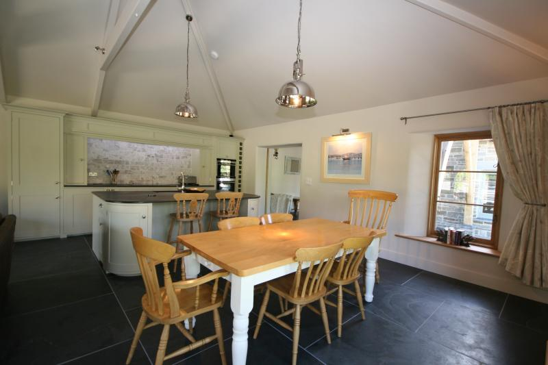 Lovely dining area in the open plan living area