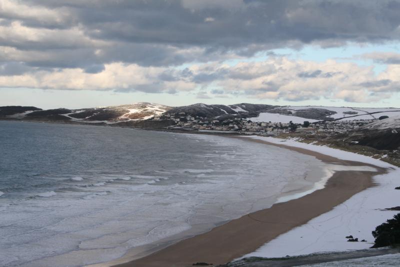 Putsborough Beach just as beautiful in winter