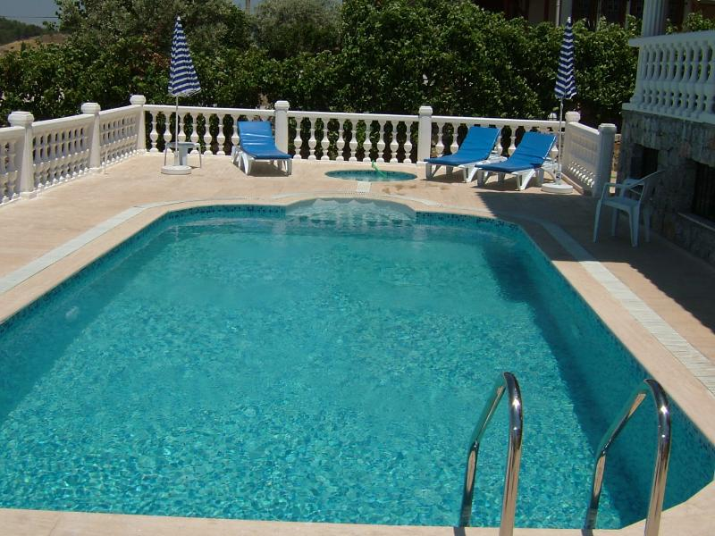 Swimming Pool and Terraces