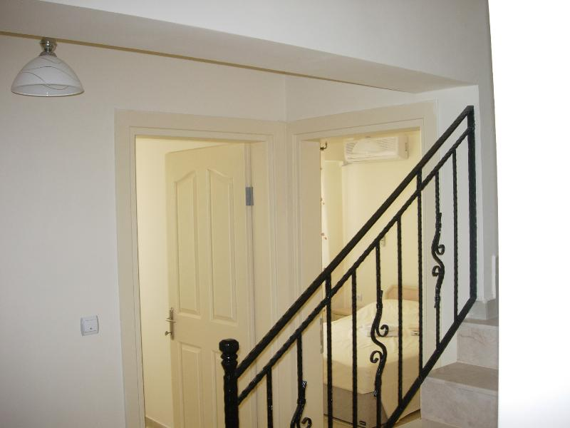 2 Downstairs bedrooms and shower room/toilet  - Stairs leading to Kitchen