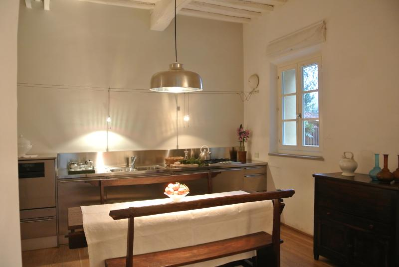 The Dining Room and Kitchen
