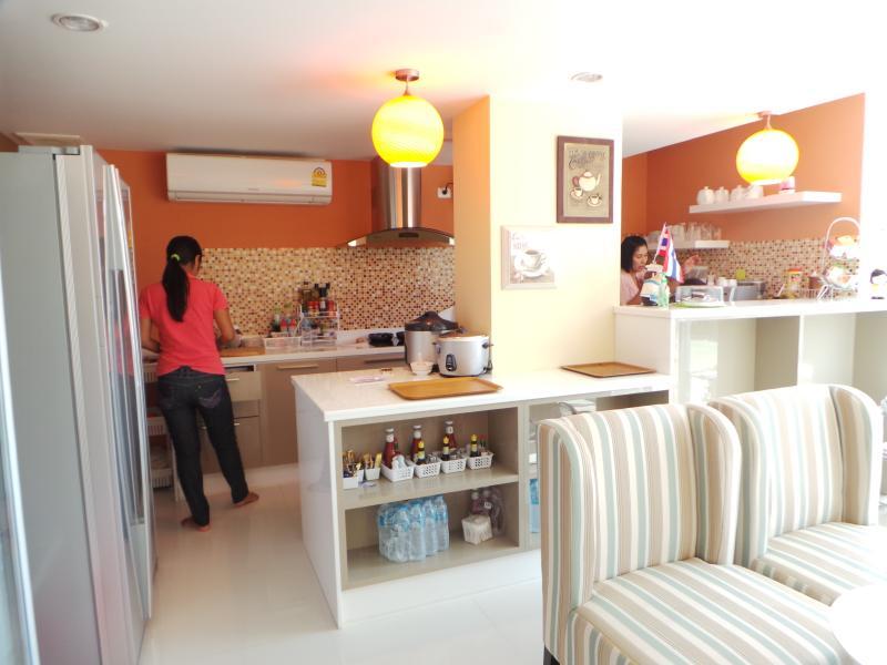 Restaurante en la planta baja cocina de Ma