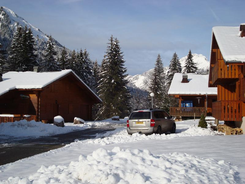 Our chalet front right.