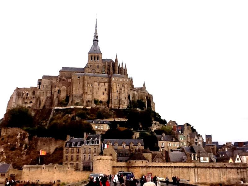 Le Mont St Michel, 5 km from the property.
