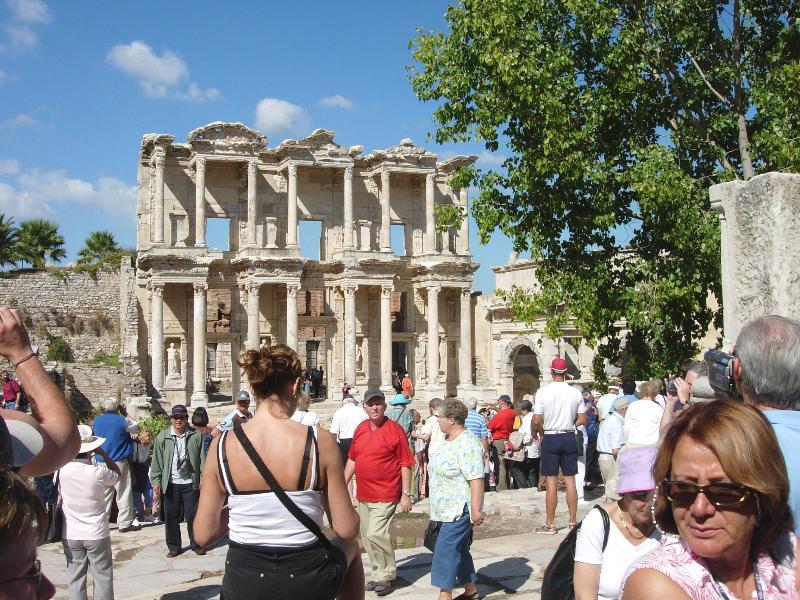Ephesus - the library