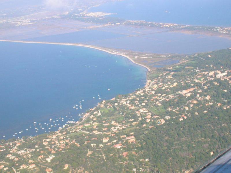 vue aérienne de la presqu'ile