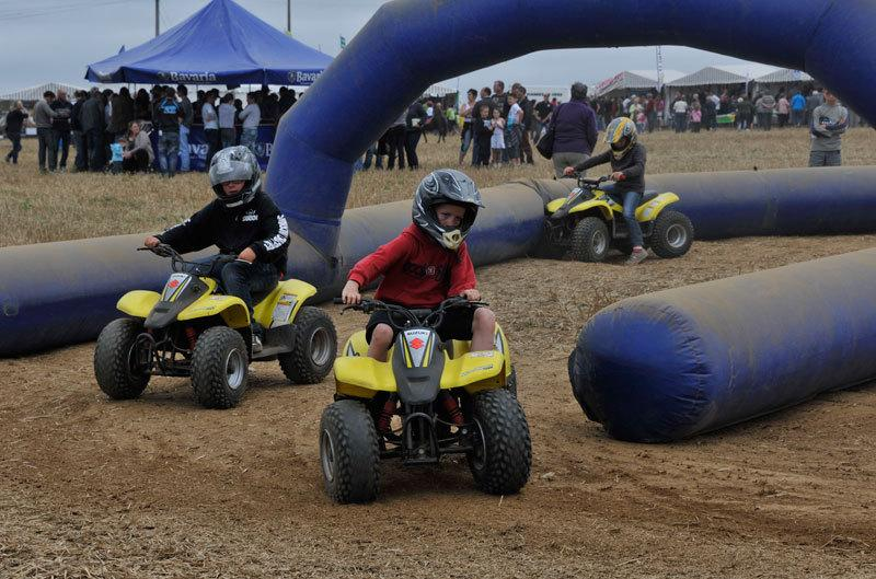 Local country fair - quad bikes for kids