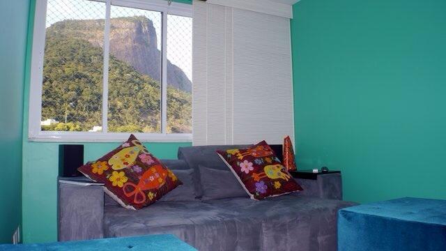 Lounge sofa - home theater room!
