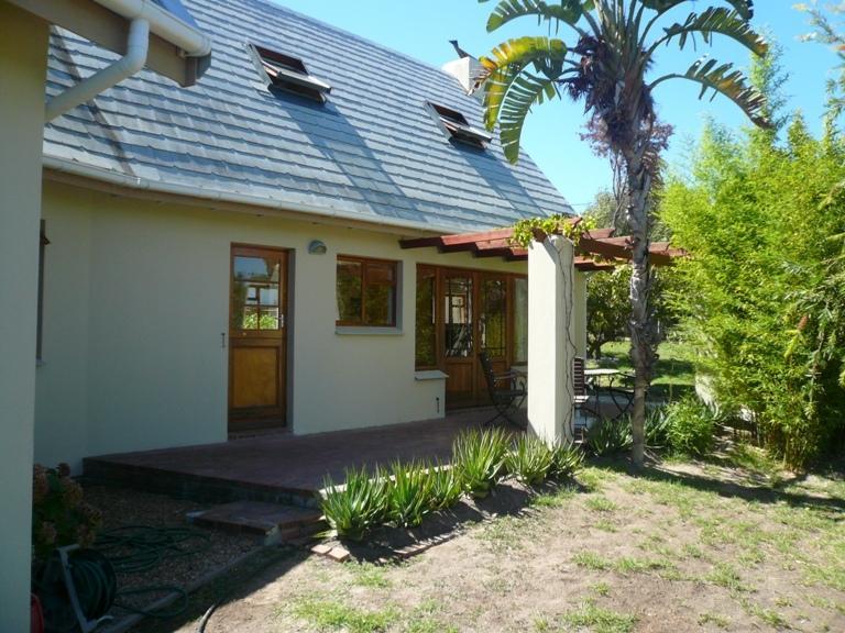 Cottage rear terrace