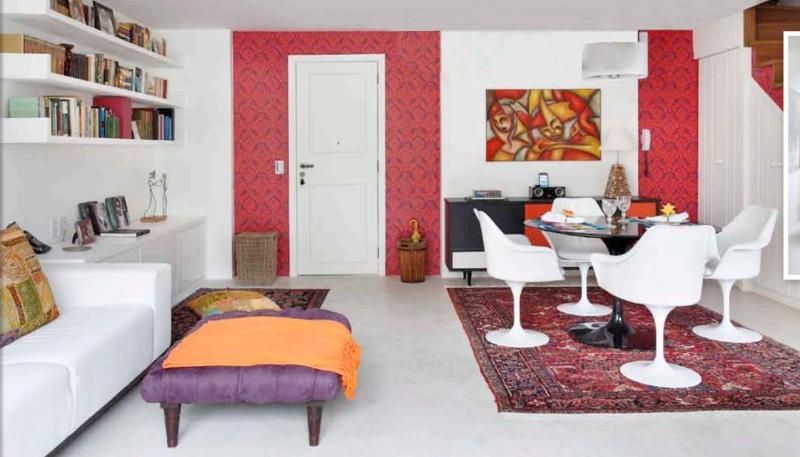Triplex penthouse 240 m2- Livingroom