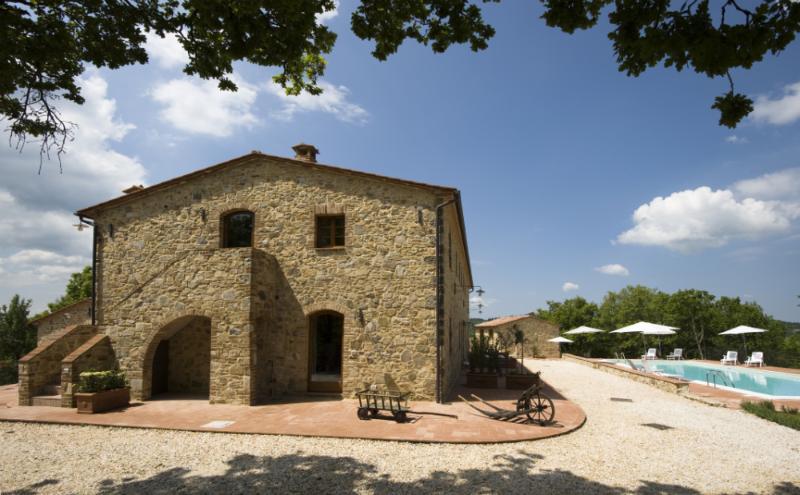 1 bedroom apartment at Borghetto Poggio Bianco, alquiler de vacaciones en Montalcinello