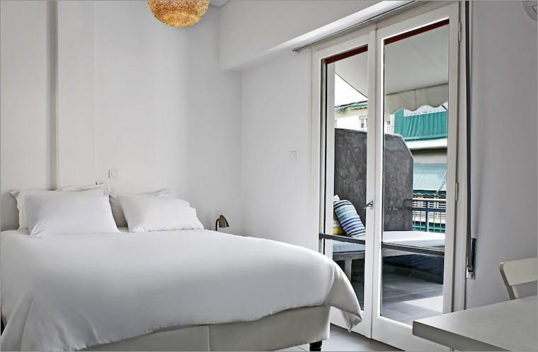 Master Bedroom with balcony in the background