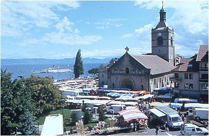 Evian town