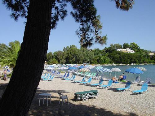 Nearest beach Gouvia
