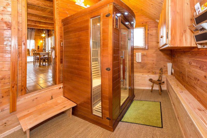 La sauna de infrarrojos Chalet Carpe Diem