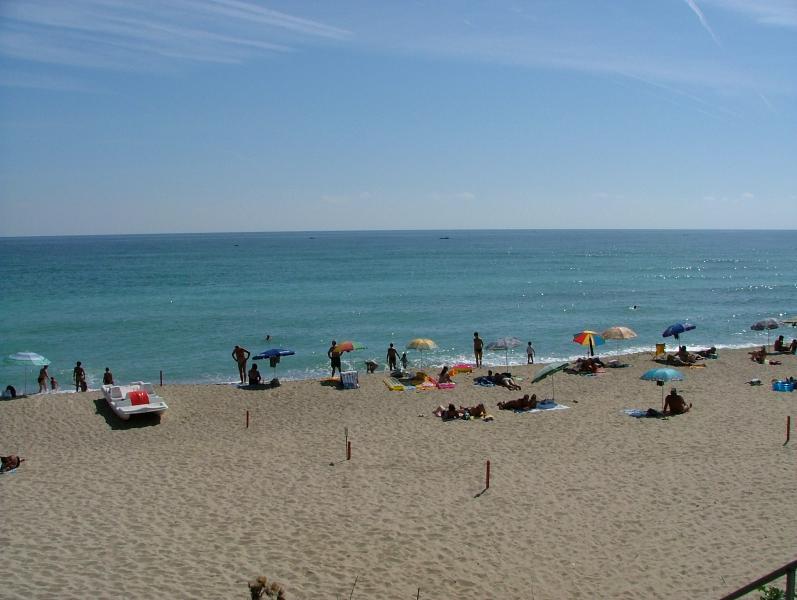 The Beach in Byala.