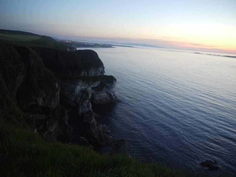 Portrush and beautiful coastline after Van Morrison Concert !!