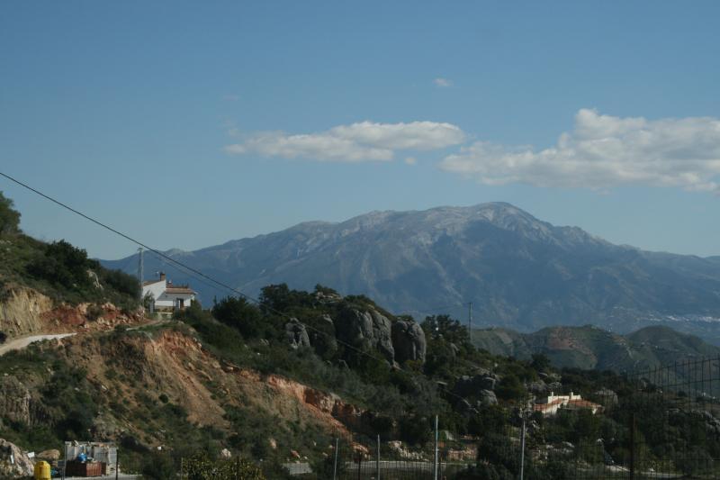 Blick über Berge