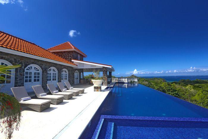 Enjoy the magnificent 80 feet , infinity edge pool and the glorious views...