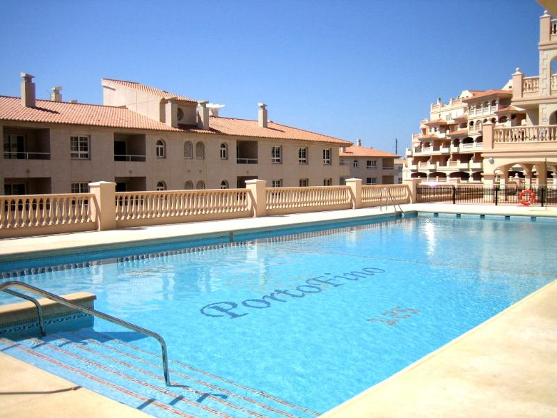 The fantastic swimming pool within a few minutes of the apartment, relaxer chairs provided