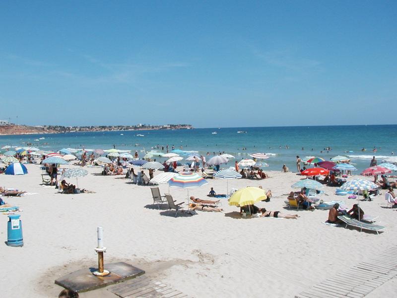 La Zenia Beach.