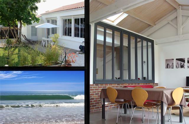 Bungalow house 'Loft style', vacation rental in La Tranche sur Mer