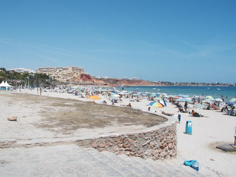 Campoamor Beach.