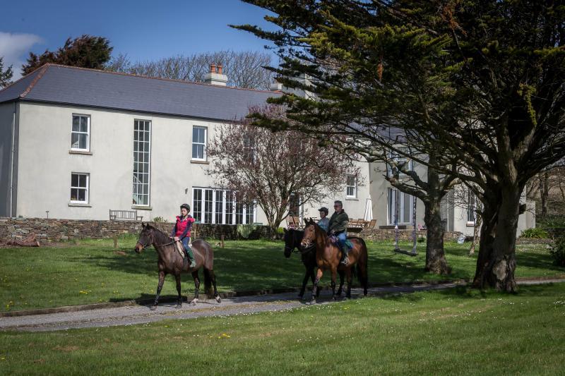 Horse Riding at Dunowen