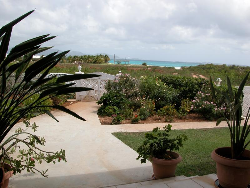 Great views of Rendezvous Bay and St Martin
