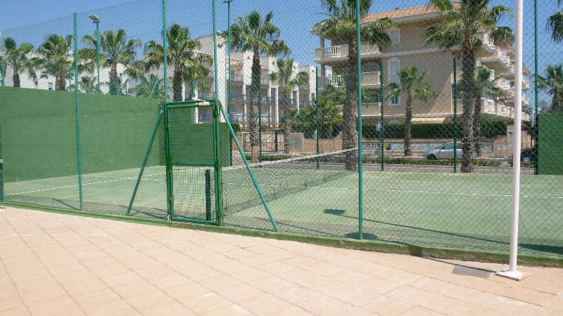 One of the 4 Paddle Courts.