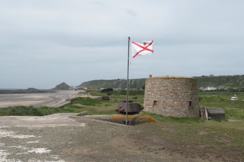 Lewis Tower has direct beach access to St Ouen's Bay