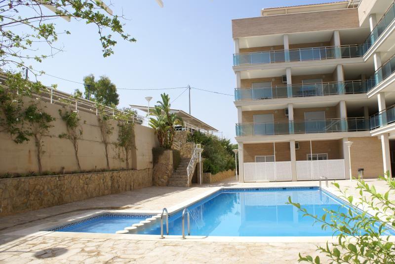 Lujoso Apartamento a metros de la Playa y del Castillo, alquiler de vacaciones en Peñíscola