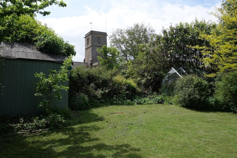 View of the Church from garden